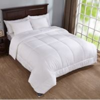 Puredown 400-Thread-Count Down Alternative Year Round Twin Comforter in White