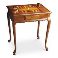 Butler Specialty Company Bannockburn Game Table in Olive Ash Burl