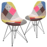 Flash Furniture Fabric Upholstered Accent Chairs in Multi (Set of 2)