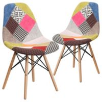 Flash Furniture Upholstered Accent Chairs in Multi (Set of 2)