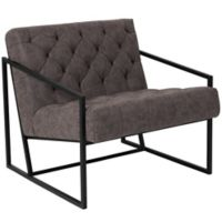 Flash Furniture Upholstered Accent Chair in Gray