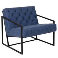 Flash Furniture Upholstered Accent Chair in Blue
