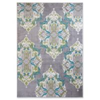 Home Dynamix Boho Chic 7'9 x 10'2 Area Rug in Grey/Multi