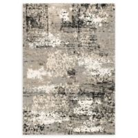 Loloi Rugs Viera 3'10 x 5'7 Power-Loomed Area Rug in Grey