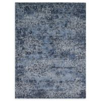 Loloi Rugs Viera 3'10 x 5'7 Power-Loomed Area Rug in Blue/Grey