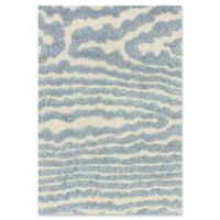 Loloi Rugs Enchant 7'7 Square Loomed Area Rug in Ivory/Light Blue
