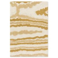 Loloi Rugs Enchant 7'7 Square Loomed Area Rug in Ivory/Gold