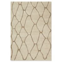 Loloi Rugs Enchant 7'7 Square Loomed Accent Rug in Ivory/Beige