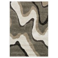 Loloi Rugs Enchant Grooved 3'10 x 5'7 Power-Loomed Multicolor Accent Rug