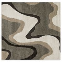 Loloi Rugs Enchant Grooved 7'7 Square Power-Loomed Multicolor Accent Rug