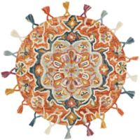 Loloi Rugs Remy 3' Round Multicolor Accent Rug