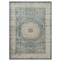 Loloi Rugs Century Medallion 3'7 x 5'7 Area Rug in Blue/Sand