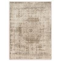 Loloi Rugs Century Medallion 7'7 Round Area Rug in Taupe/Sand