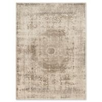 Loloi Rugs Century Medallion 2'6 x 10'6 Runner in Taupe/Sand