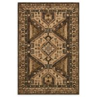 Loloi Rugs Victoria 2'3 x 3'9 Handcrafted Accent Rug in Walnut/Beige