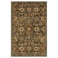 Loloi Rugs Victoria 3'6 x 5'6 Handcrafted Area Rug in Dark Taupe/Multi