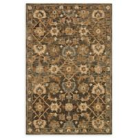 Loloi Rugs Victoria 5' x 7'6 Handcrafted Area Rug in Dark Taupe/Multi