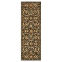 Loloi Rugs Victoria 2'6 x 7'6 Handcrafted Runner in Dark Taupe/Multi