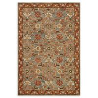 Loloi Rugs Victoria 5' x 7'6 Handcrafted Area Rug in Slate/Terracotta