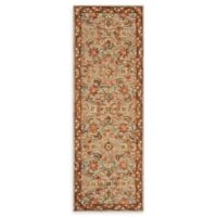 Loloi Rugs Victoria 2'6 x 7'6 Handcrafted Runner in Slate/Terracotta