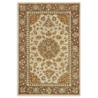 Loloi Rugs Victoria 2'6 x 7'6 Handcrafted Runner in Ivory/Charcoal