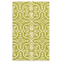 Loloi Rugs Venice Beach 2'3 x 3'9 Indoor/Outdoor Accent Rug in Peridot/Ivory