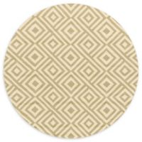 Loloi Rugs Venice Beach 7'10 Indoor/Outdoor Round Area Rug in Grey/Ivory