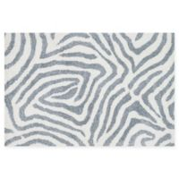 Loloi Rugs Kiara Geometric Shag 2'3 x 3'9 Accent Rug in Ivory/Grey