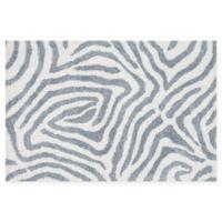 Loloi Rugs Kiara Geometric Shag 3'6 x 5'6 Area Rug in Ivory/Grey