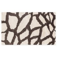 Loloi Rugs Kiara Giraffe Shag 2'3 x 3'9 Accent Rug in Ivory/Brown