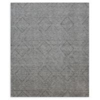 Natori® Shangri-La Interlock Hand-Loomed Area Rug in Grey