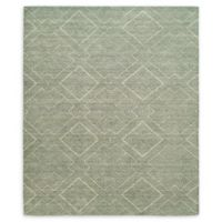 Natori® Shangri-La Interlock Hand-Loomed Area Rug in Green