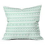 Deny Designs Craftbelly Retro Holiday 18-Inch Square Throw Pillow in Green