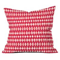 Deny Designs Ingrid Padilla Holiday 20-Inch Square Throw Pilllow in Red