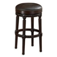 American Heritage Billiards Landon Bar Stool in Navajo/Tobacco