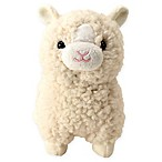 Small Llama Plush Toy in Ivory
