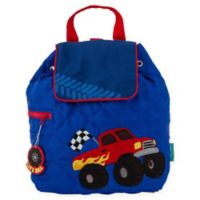 Stephen Joseph® Monster Truck Quilted Backpack in Blue