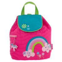 Stephen Joseph® Rainbow Quilted Backpack in Pink