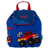 Stephen Joseph® Monster Truck Quilted Backpack in Red