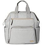 SKIP*HOP® Mainframe Wide Open Backpack Diaper Bag in Grey