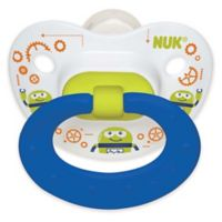 NUK® Day & Night 6-18M 2-Pack Glow orthodontic Pacifiers in Blue