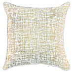 American Colors Brand Textured Square Throw Pillow in Wheat