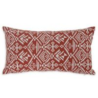 Varaluz Casa Tribal Lumbar Throw Pillow in Red