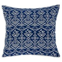 Varaluz Casa Tribal Square Throw Pillow in Blue