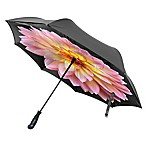 BetterBrella™ Dahlia Floral Umbrella with Reverse Open/Close Technology