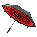 BetterBrella™ Rose Floral Umbrella with Reverse Open/Close Technology