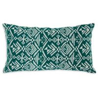 Varaluz Casa Tribal Lumbar Throw Pillow in Green