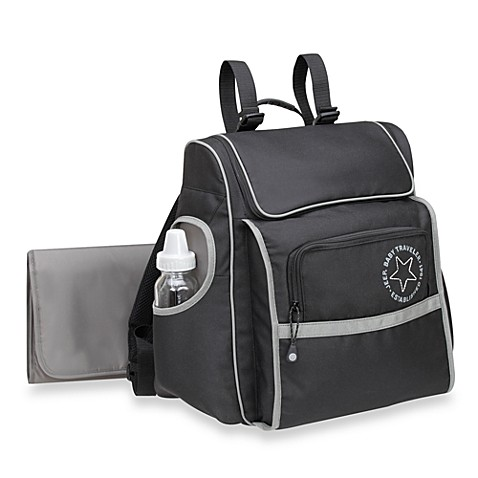 Jeep 174 Black Backpack Diaper Bag Bed Bath Amp Beyond