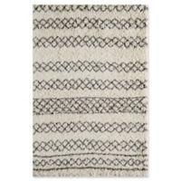 Momeni Maya Power-Loomed 9'3 x 12'6 Area Rug in Grey
