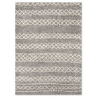 Momeni Maya Power-Loomed 9'3 x 12'6 Area Rug in Grey